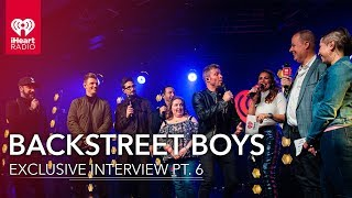 Backstreet Boys Answer Questions From Some Of Their Biggest Fans | iHeartRadio Release Party