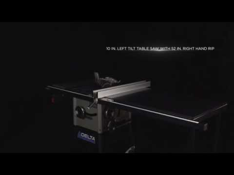 Delta 15 Amp 10 In.Contractor Table Saw - 36-5052