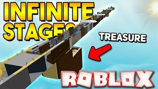 INFINITE STAGES MODE! | Build a boat for Treasure ROBLOX