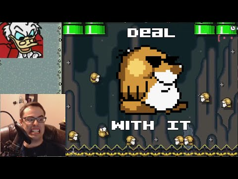 "Mario Maker - Ready to Rock n' Mole | ""So Carl Me Maybe!"" (DELICIOUS RAGE!)"