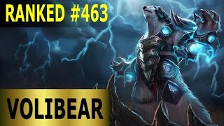Volibear Jungle - Full League of Legends Gameplay [German] Lets Play LoL - Ranked #463
