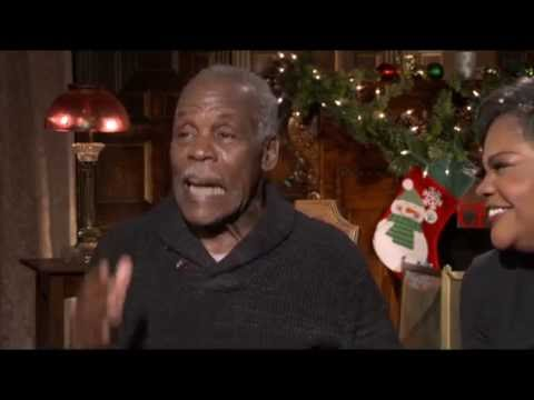 Almost Christmas-Danny Glover & Monique talk about their new movie ...