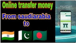 Online Transfer money from Saudi arabia to everywhere with NCB QUICK PAY?