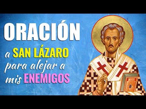 🙏 Oración a San Lázaro CONTRA LOS ENEMIGOS – Aléjalos de mi vida 😰
