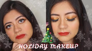 ✨Glitter Glam Makeup ✨ Talk Thru video [How to & Style]