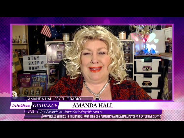 Amanda Hall Psychic - May 26, 2020