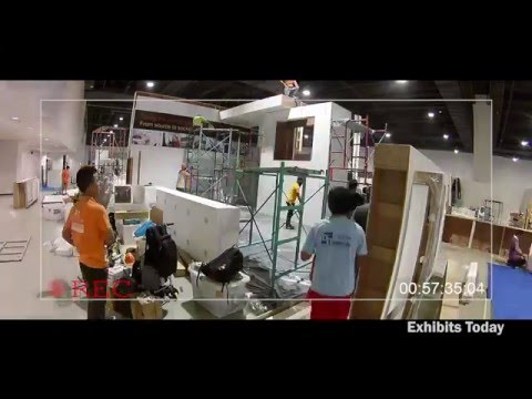 abb-philippines-trade-show-display-timelapse-video-&-clips-(iiee-2015)