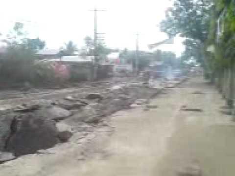 road construction niyugan, jaen nueva ecija