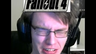 Huge Nerd Reacts To Fallout 4 E3 Gameplay!