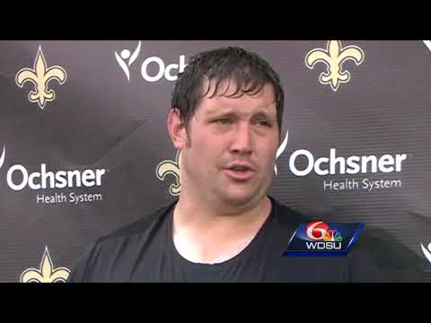 Saints offensive tackle Zach Strief supports players using platform for politics