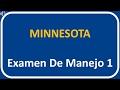Examen De Manejo De Minnesota 1