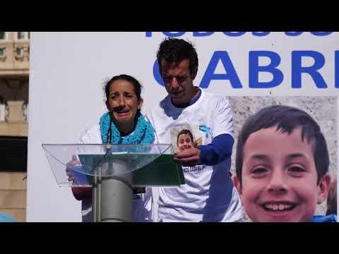 Concentración ¡Todos somos Gabriel!, en apoyo al niño Gabriel Cruz