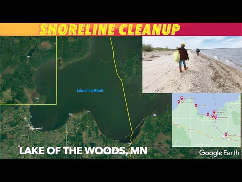 Lake Of The Woods Shoreline Cleanup