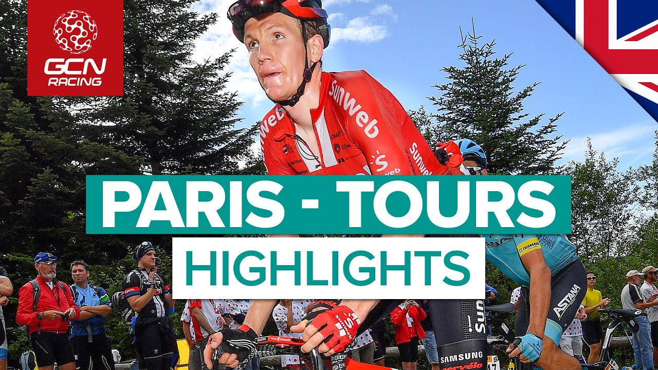 Paris - Tours 2019 Highlights   French One Day Classic   GCN Racing