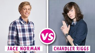 Jace Norman VS Chandler Riggs Transformation 2018 || Who is Best?