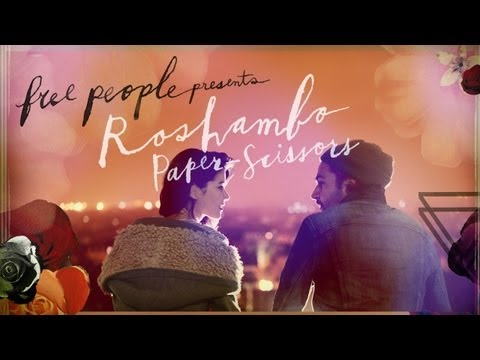 Free People Presents  Roshambo: PaperScissors ft. Christopher Abbott