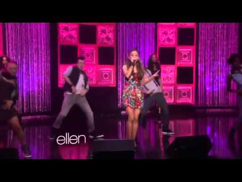 Ariana grande mac miller the way live at the ellen show youtube - Ellen show live ...