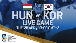 Hungary - Korea | Full Game | 2017 IIHF Ice Hockey World Championship Division I Group A thumbnail