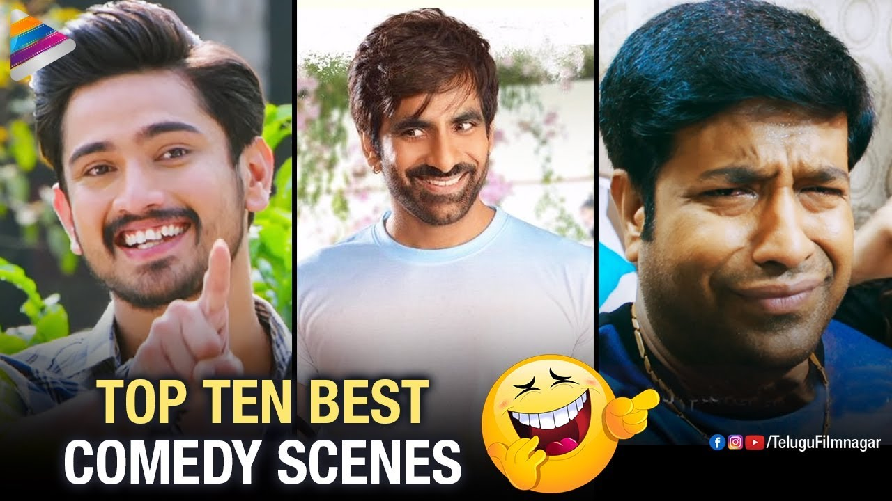 Top 10 Best Telugu Comedy Scenes | Raja The Great | Raju Gari Gadhi 2 | Lover | Telugu FilmNagar