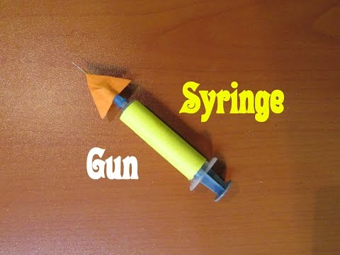how to make a easy spitball gun