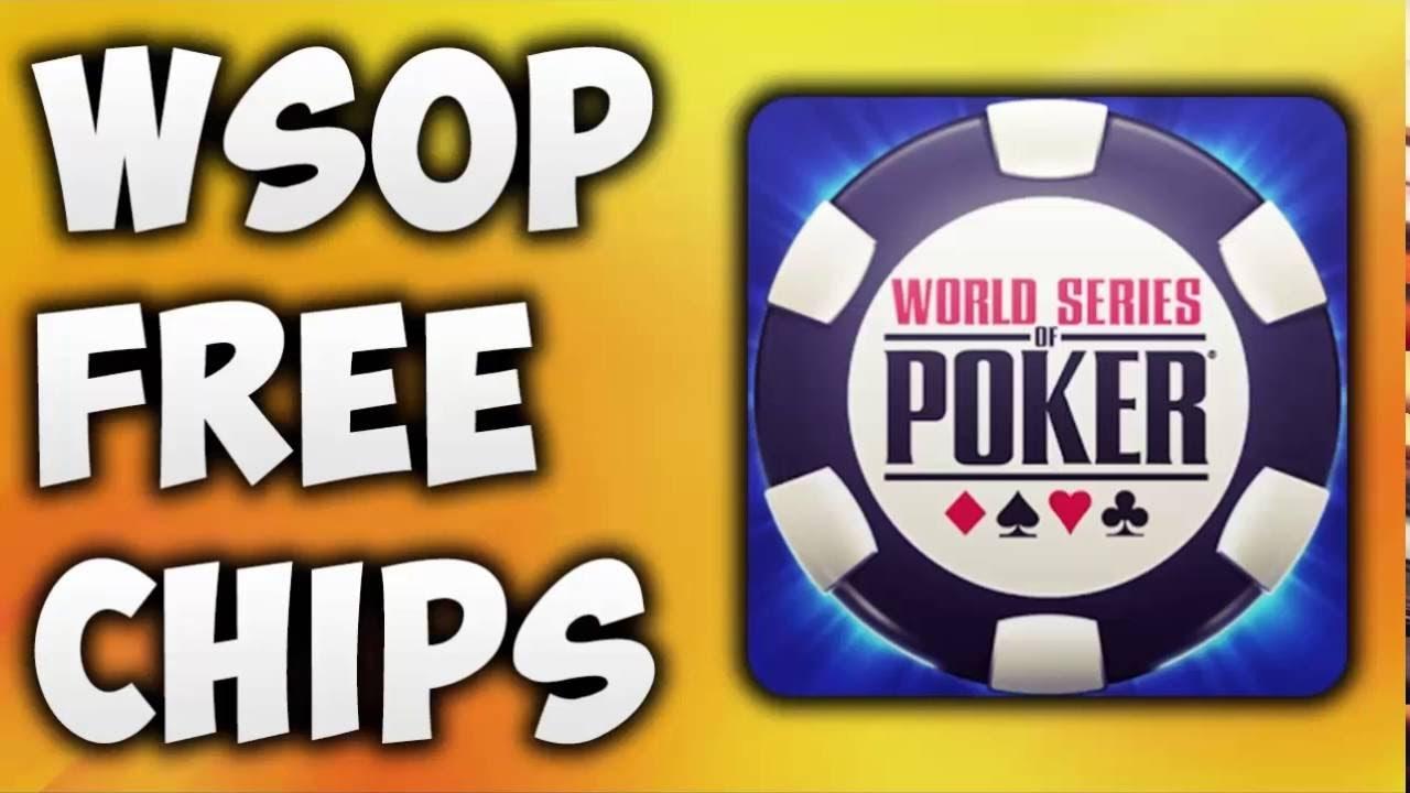 Free chips for world series of poker app zodiac casino flash