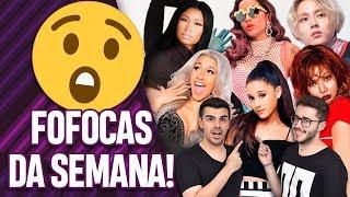 FOFOCAS: CARDI X NICKI, ANITTA SOLTEIRA, MORRE EX DA ARIANA, HYUNA E E'DAWN NA RUA | Virou Festa