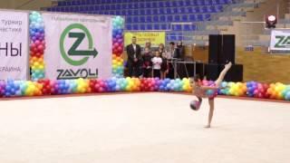 КРАСКИ ВЕСНЫ (Выступления гимнасток 2005 г.р.). Часть_2