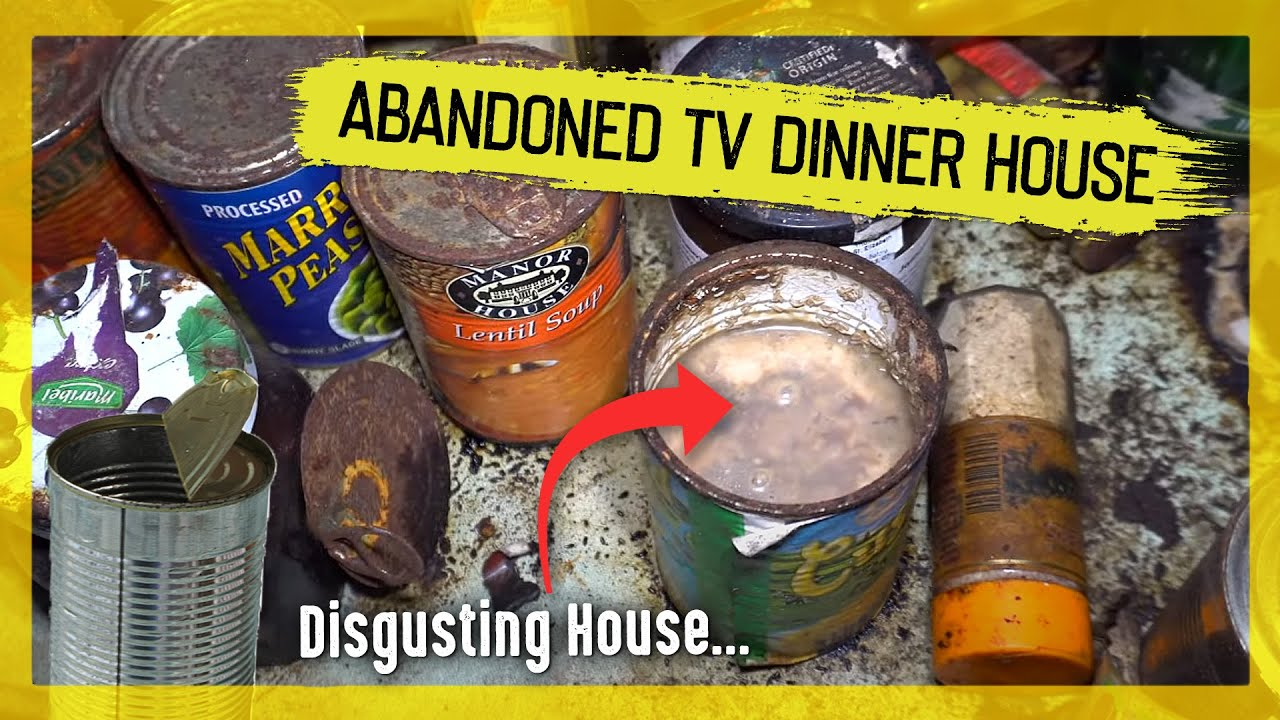 """Exploring the Abandoned """"TV Dinner House"""""""