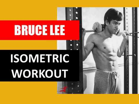 HOW BRUCE LEE DEVELOPED HIS STRENGTH THROUGH ISOMETRICS