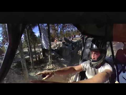 AWESOME in car 360 VR footage in a rock-crawler