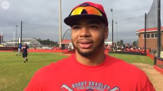 Watch Bobby Bradley talk about giving back and the Cleveland Indians