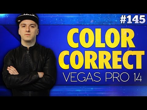 Vegas Pro 14: How To Use Color Correction Like A Boss - Tutorial #145