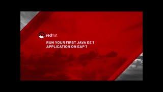 Run Your First Java EE 7 Application on JBoss EAP 7