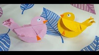 كيف تصنع لعبة بسيطة بالورق لتسلية الطفل