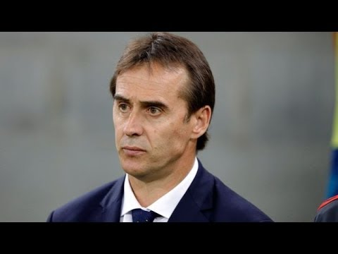 JULEN LOPETEGUI SACKED AS SPAIN HEAD COACH