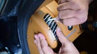 #خل_نتعلم تنظيف السيارة من الداخل و تنظيف المحرك بشكل احترافي