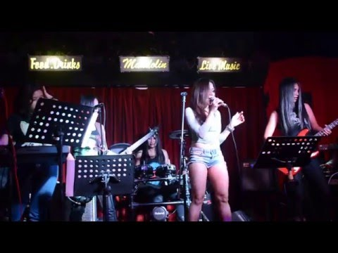 I Kissed A Girl cover by CANDY (Malaysian Rock Band) at Mandolin Bar