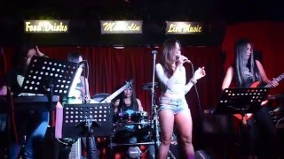 CANDY L VE     Kissed A Girl Cover At Mandolin Bar