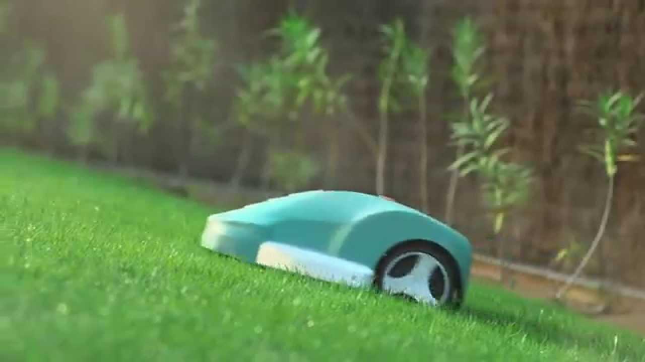 bosch stellt vor roboter rasenm her indego youtube. Black Bedroom Furniture Sets. Home Design Ideas