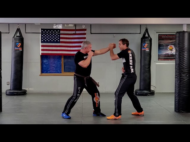How to Defend Punches With 1 Hand In Krav Maga | ClearSky