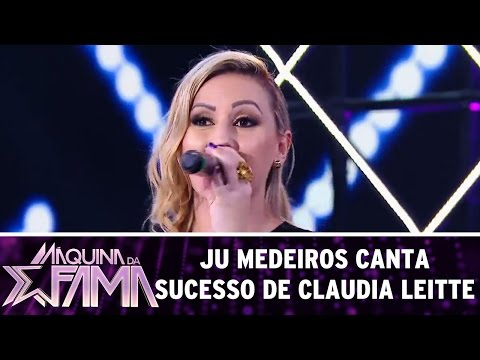 Máquina da Fama (05/12/16) - Ju Medeiros canta sucesso de Claudia Leitte