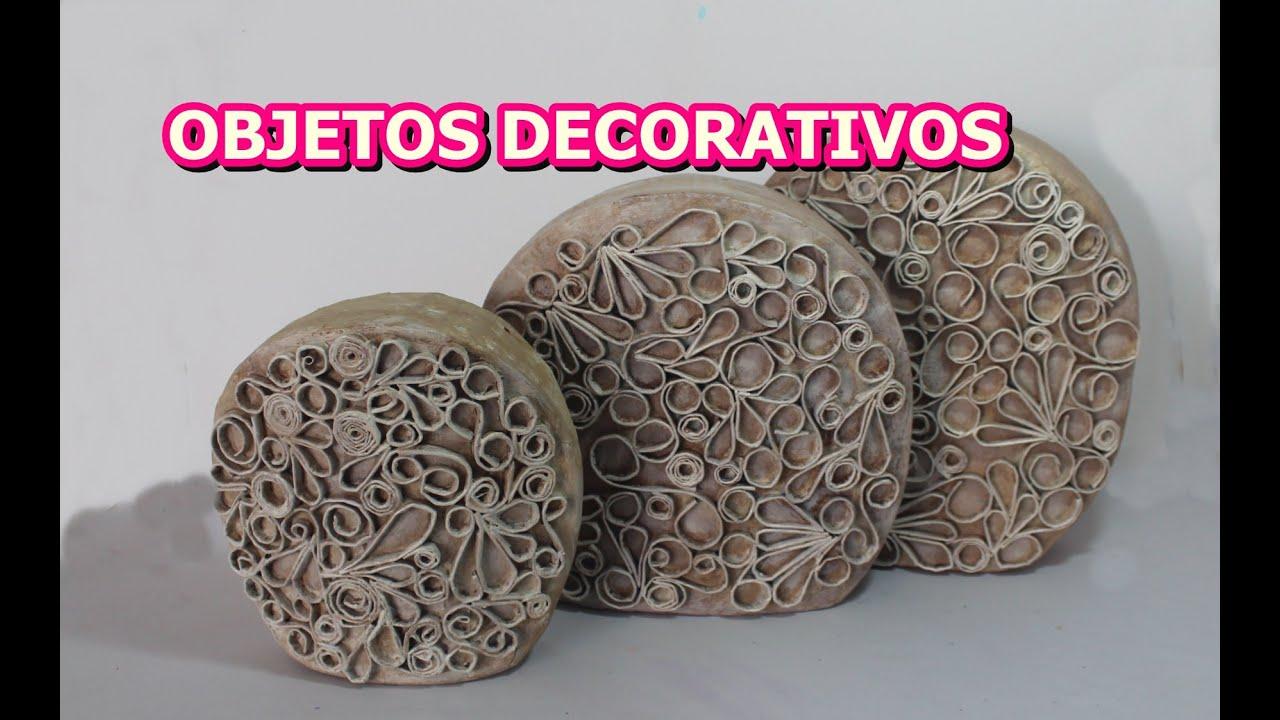 OBJETOS DECORATIVOS ADORNO DE CARTON VINTAGE