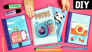 DIY Scrapbook 📸 💙 Faça um Álbum de Fotos Divertido