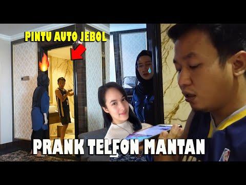 PRANK TELFON MANTAN DI WC DI GERBEK ISTRI. AUTO PERANG DUANIA #4.