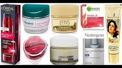 Top 10 Best Anti Wrinkle cream in india with price | best wrinkle cream 2018