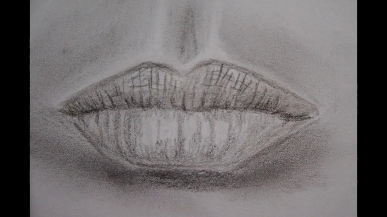 Lippen Zeichnen Mund Zeichnen How To Draw Mouth And Lips
