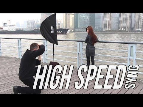 How to use High Speed Sync (HSS) for shooting portraits outdoor