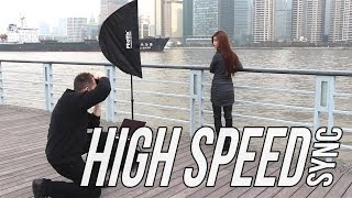 How to use High Speed Sync (HSS) for shooting portraits outdoor thumbnail