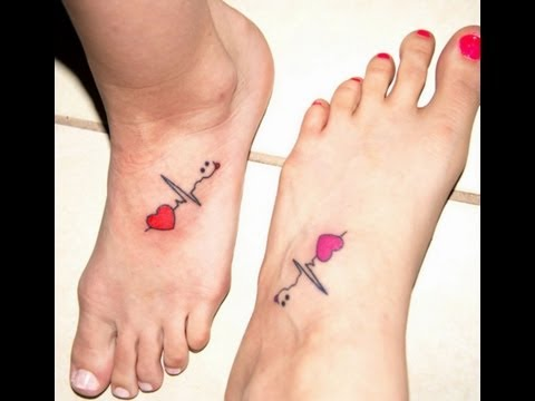 Best Friends Get Foot Tattoos