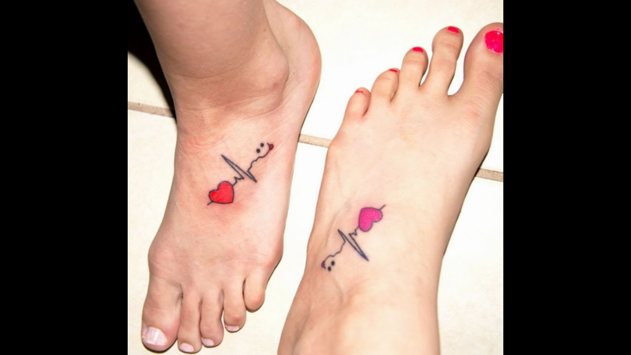 Best Friends Get Foot Tattoos! VEDA Day#12 - YouTube